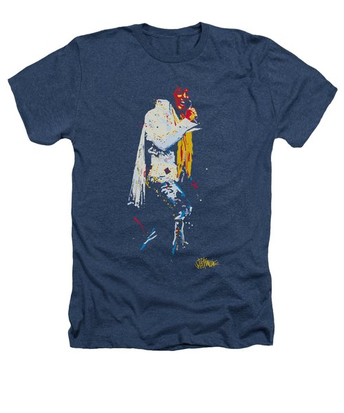 Elvis - Yellow Scarf Heathers T-Shirt by Brand A