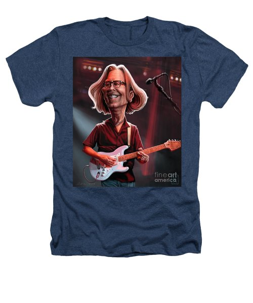 Eric Clapton Heathers T-Shirt by Andre Koekemoer
