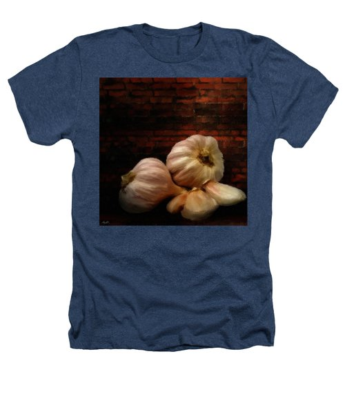 Garlic Heathers T-Shirt by Lourry Legarde
