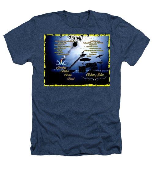 Goodbye Yellow Brick Road Heathers T-Shirt by Michael Damiani