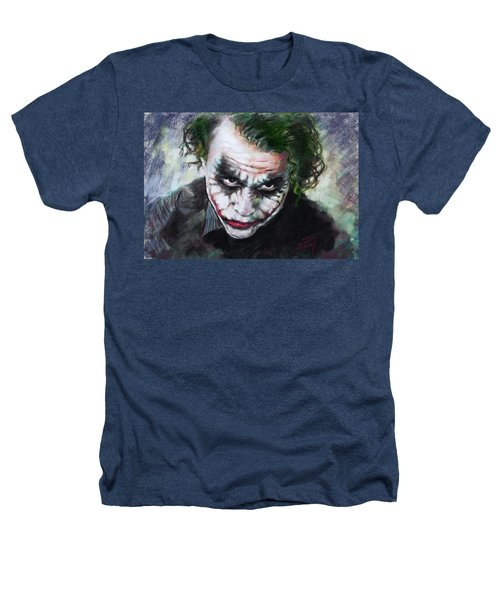 Heath Ledger The Dark Knight Heathers T-Shirt by Viola El