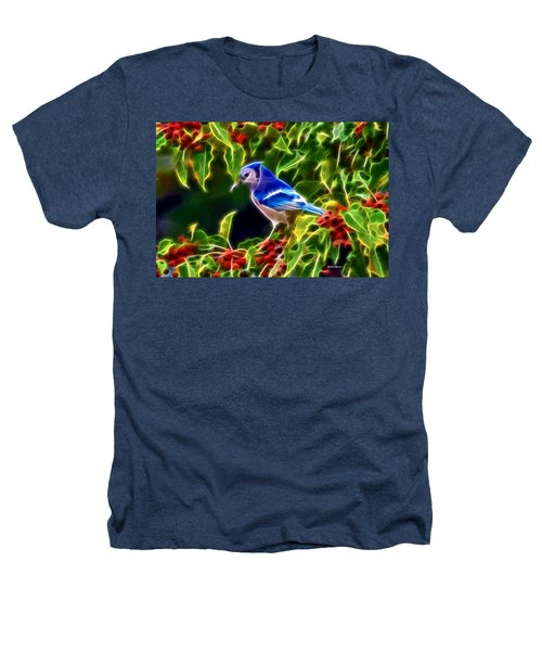 Hiding In The Berries Heathers T-Shirt by Stephen Younts