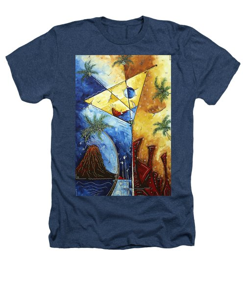 Island Martini  Original Madart Painting Heathers T-Shirt by Megan Duncanson