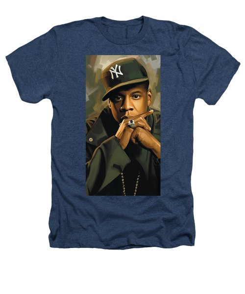 Jay-z Artwork 2 Heathers T-Shirt by Sheraz A