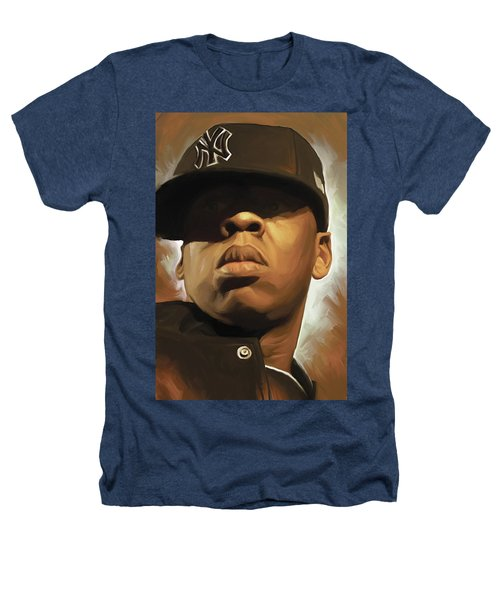 Jay-z Artwork Heathers T-Shirt by Sheraz A