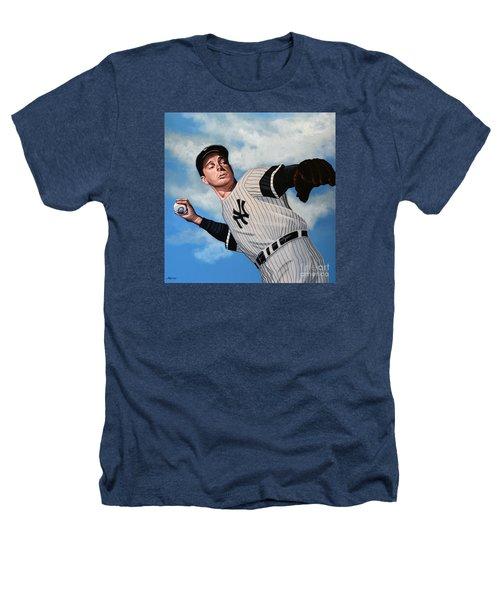Joe Dimaggio Heathers T-Shirt by Paul Meijering