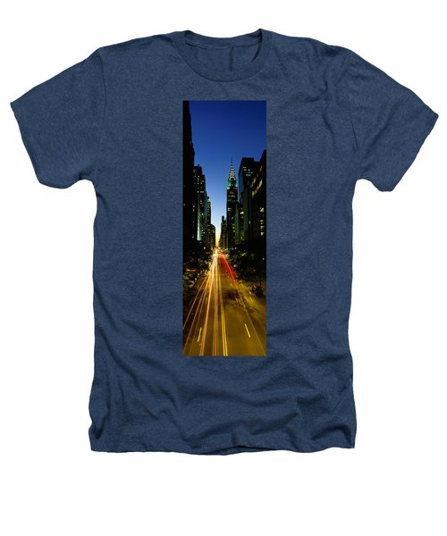 Lexington Avenue, Cityscape, Nyc, New Heathers T-Shirt by Panoramic Images
