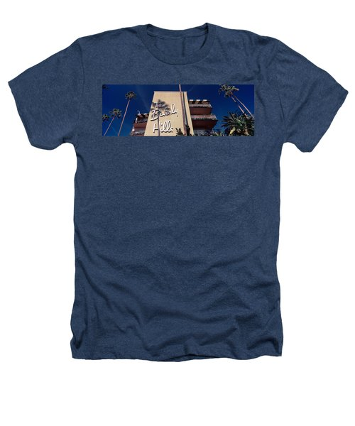 Low Angle View Of A Hotel, Beverly Heathers T-Shirt by Panoramic Images