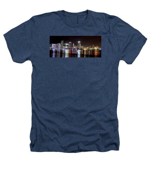 Miami - Florida  Heathers T-Shirt by Brendan Reals