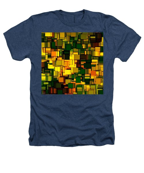 Modern Abstract Xxii Heathers T-Shirt by Lourry Legarde