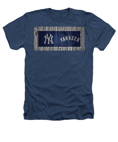 New York Yankees Barn Door Heathers T-Shirt by Dan Sproul