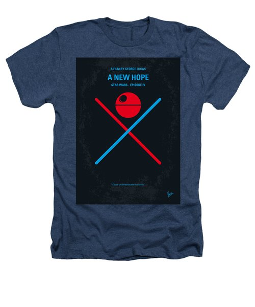 No154 My Star Wars Episode Iv A New Hope Minimal Movie Poster Heathers T-Shirt by Chungkong Art