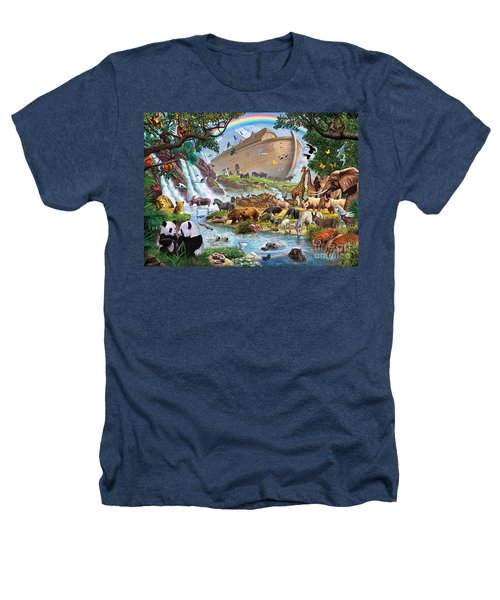 Noahs Ark - The Homecoming Heathers T-Shirt by Steve Crisp