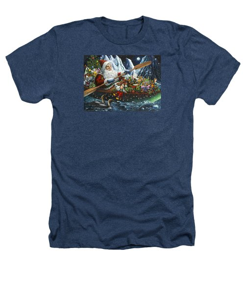 Northern Passage Heathers T-Shirt by Lynn Bywaters