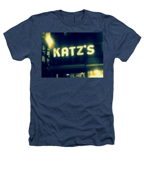 Nyc's Famous Katz's Deli Heathers T-Shirt by Paulo Guimaraes