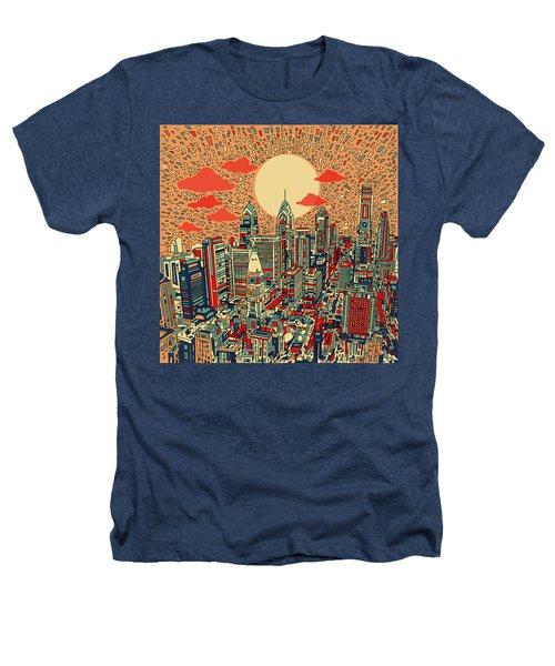 Philadelphia Dream Heathers T-Shirt by Bekim Art