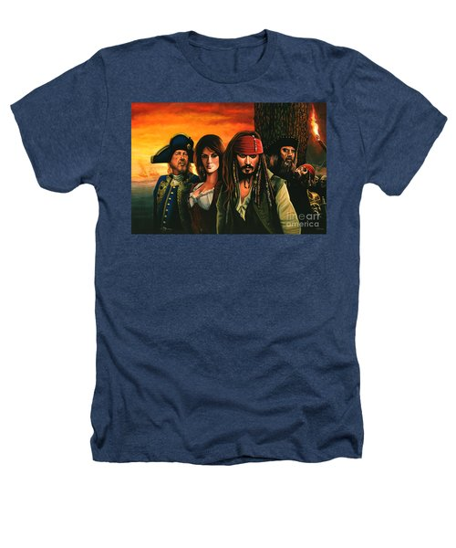 Pirates Of The Caribbean  Heathers T-Shirt by Paul Meijering