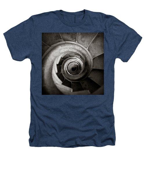 Sagrada Familia Steps Heathers T-Shirt by Dave Bowman