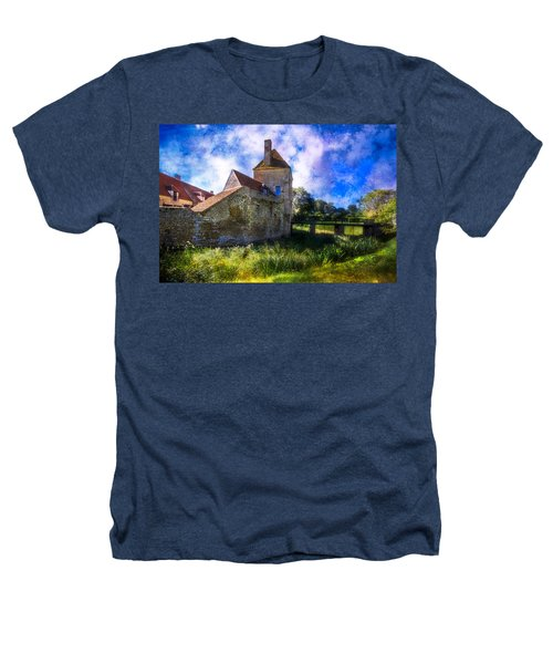 Spring Romance In The French Countryside Heathers T-Shirt by Debra and Dave Vanderlaan