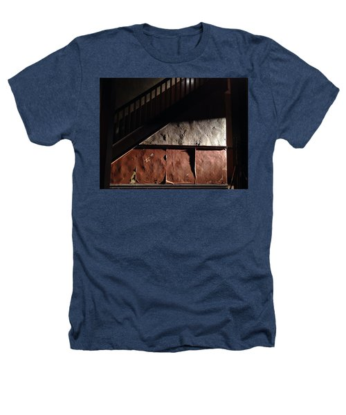 Stairwell Heathers T-Shirt by H James Hoff