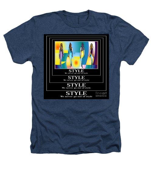 Style Heathers T-Shirt by Kim Peto