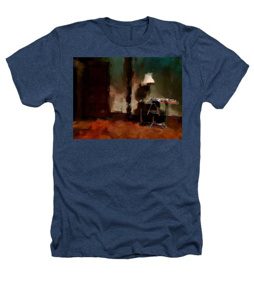 Table Lamp Chair Heathers T-Shirt by H James Hoff