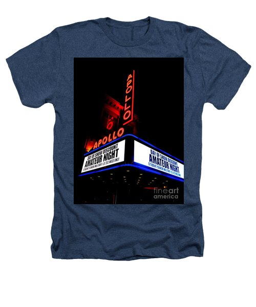 The Apollo Theater Heathers T-Shirt by Ed Weidman