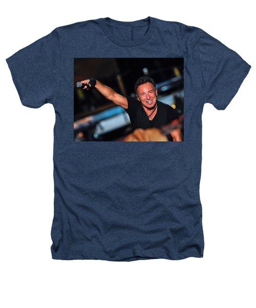 The Boss Heathers T-Shirt by Rafa Rivas