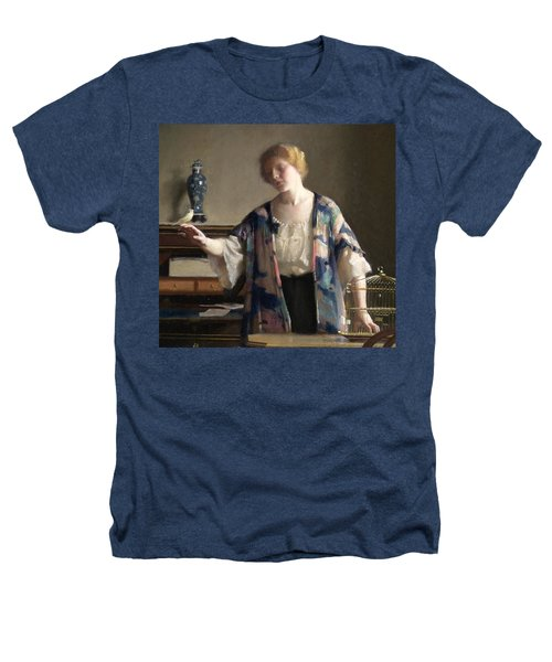 The Canary Heathers T-Shirt by William McGregor Paxson