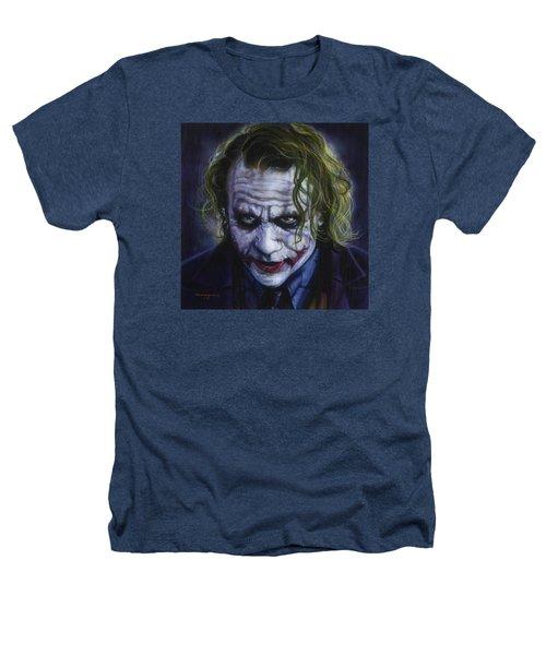 The Joker Heathers T-Shirt by Tim  Scoggins