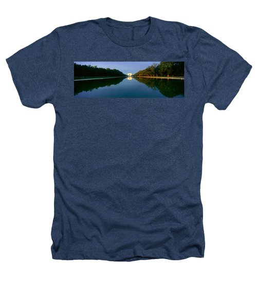 The Lincoln Memorial At Sunrise Heathers T-Shirt by Panoramic Images