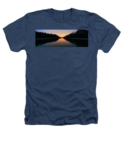 The Lincoln Memorial At Sunset Heathers T-Shirt by Panoramic Images