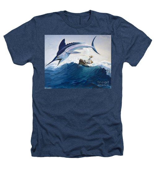 The Old Man And The Sea Heathers T-Shirt by Harry G Seabright