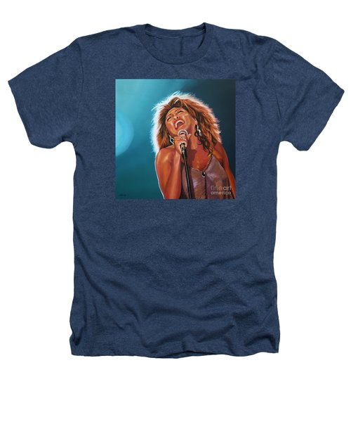 Tina Turner 3 Heathers T-Shirt by Paul Meijering