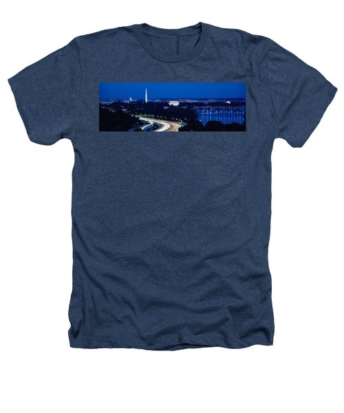 Traffic On The Road, Washington Heathers T-Shirt by Panoramic Images