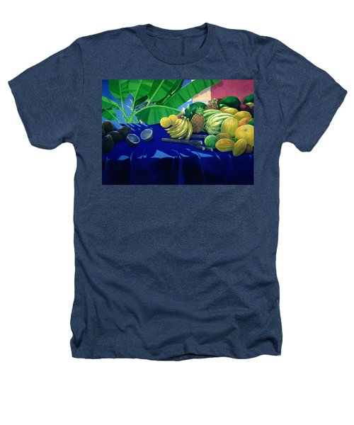Tropical Fruit Heathers T-Shirt by Lincoln Seligman