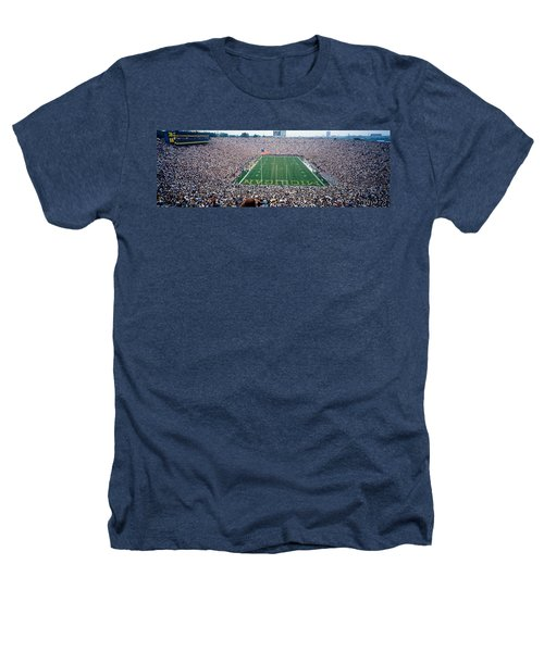 University Of Michigan Football Game Heathers T-Shirt by Panoramic Images