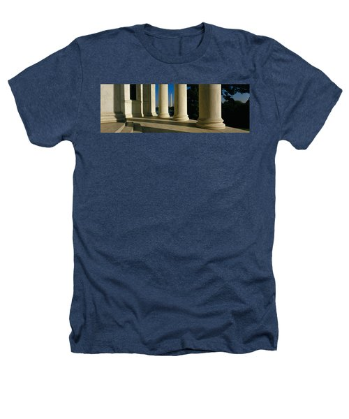 Usa, District Of Columbia, Jefferson Heathers T-Shirt by Panoramic Images