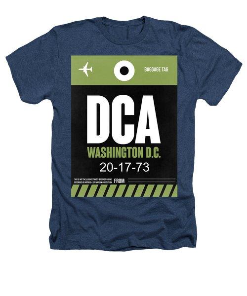 Washington D.c. Airport Poster 2 Heathers T-Shirt by Naxart Studio