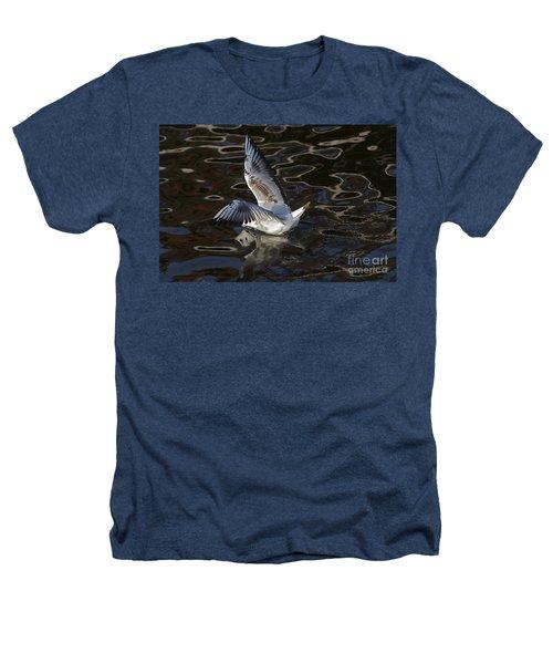 Head Under Water Heathers T-Shirt by Michal Boubin