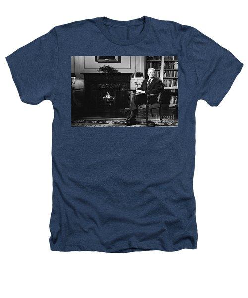 Jimmy Carter (1924- ) Heathers T-Shirt by Granger