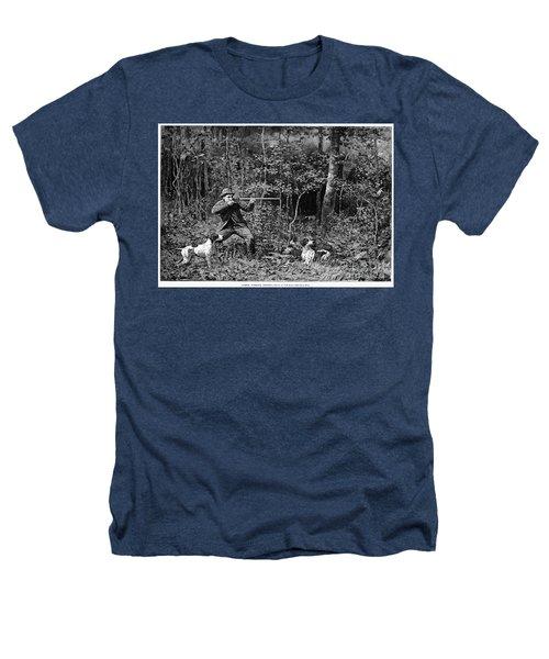 Bird Shooting, 1886 Heathers T-Shirt by Granger