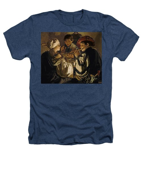 Concert Heathers T-Shirt by Hendrick Ter Brugghen