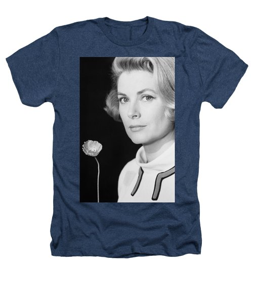 Grace Kelly (1928-1982) Heathers T-Shirt by Granger