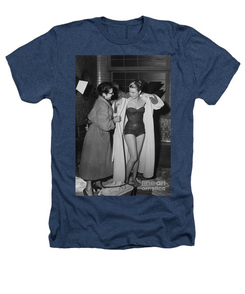Grace Kelly  Heathers T-Shirt by Photo Researchers