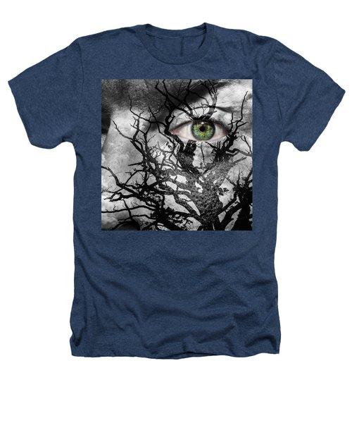 Medusa Tree Heathers T-Shirt by Semmick Photo