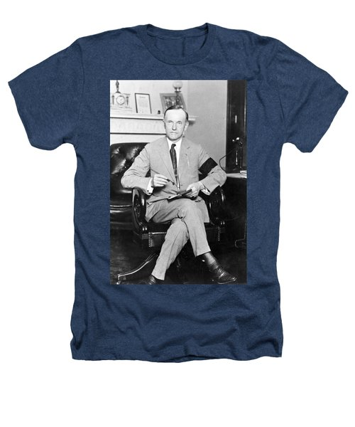 President Calvin Coolidge Heathers T-Shirt by International  Images