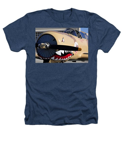 Yak Attack Heathers T-Shirt by David Lee Thompson