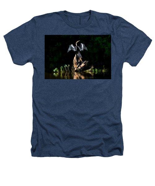 Anhinga Anhinga Anhinga, Pantanal Heathers T-Shirt by Panoramic Images