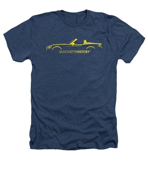 Italian Roadster Silhouettehistory Heathers T-Shirt by Gabor Vida